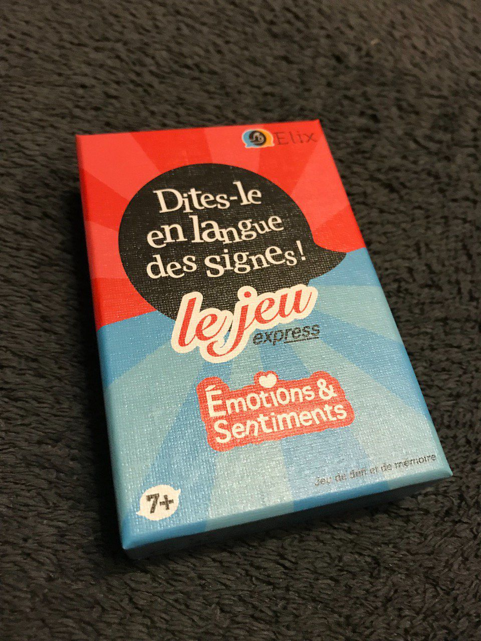 Emotions et Sentiments - Dites-le en Langue des Signes